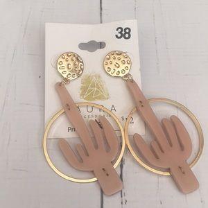 NEW! 🖤 Aura's Pink Cactus Earrings